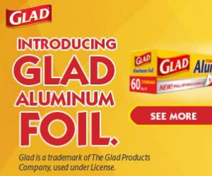 Glad Foil Brand Page